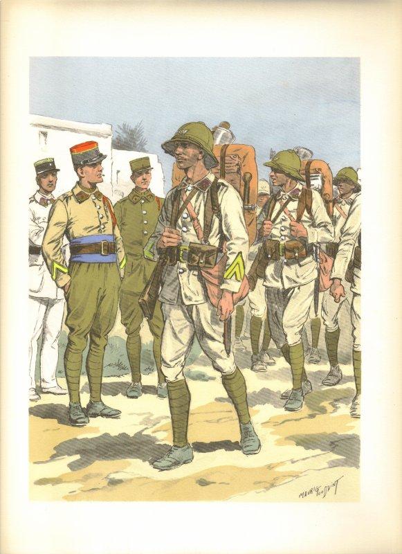 Uniformes de l'Arme de Terre franaise en 39-45