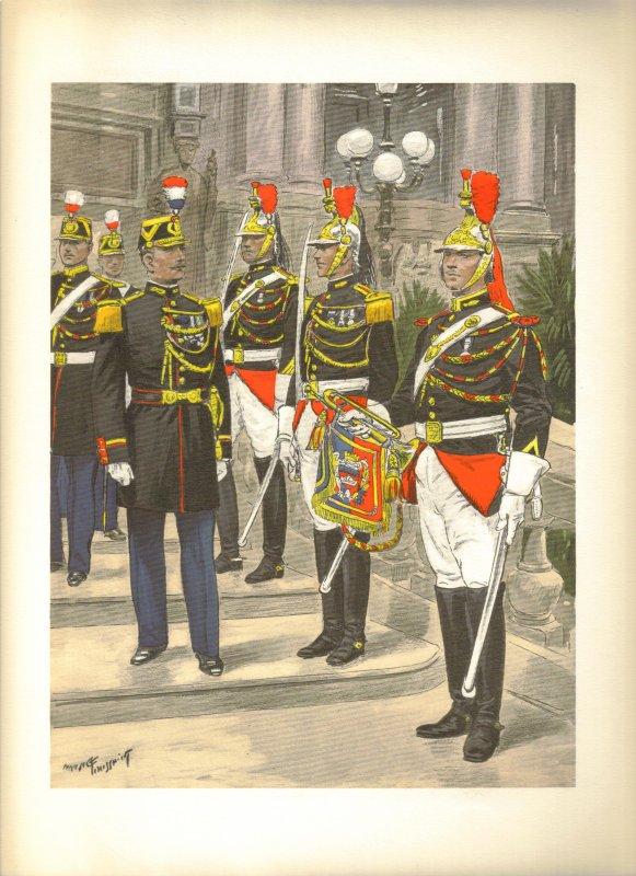 LES UNIFORMES DE L'ARMEE FRANCAISE, 1935