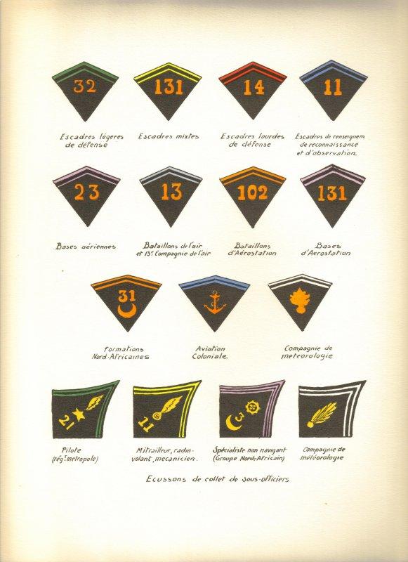 LES UNIFORMES DE L'AEMEE FRANCAISE, 1935
