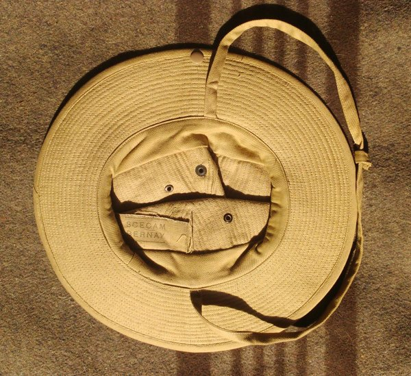 Chapeau de brousse mle 49.