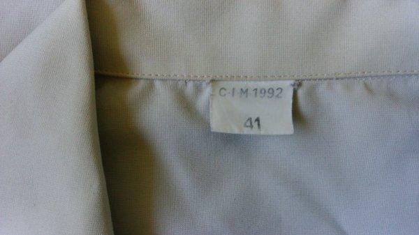 Chemisette mle 89, TDF.