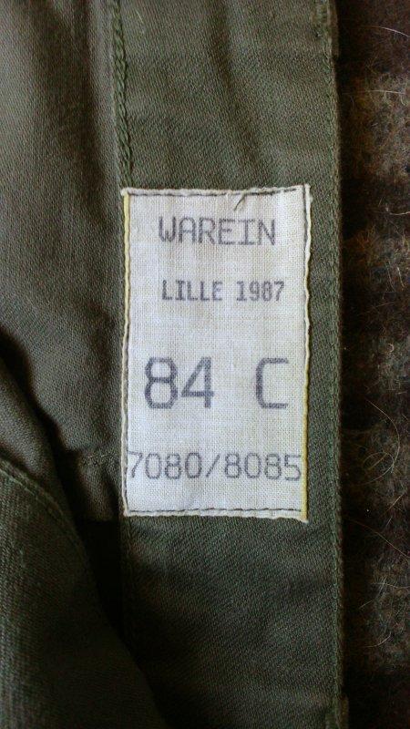 Pantalon mle F-2.
