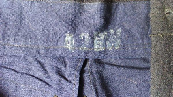 Pantalon mle 45, drap.