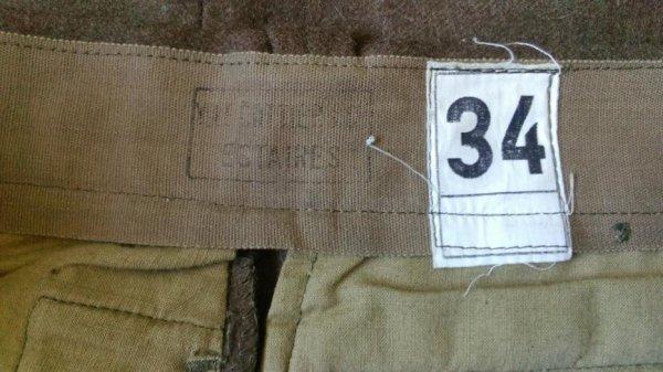 Pantalon mle 45/52, drap.