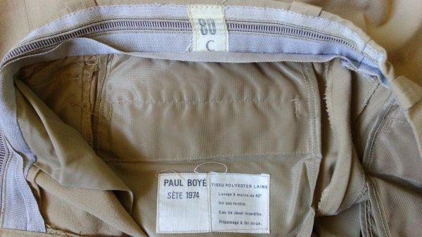 Pantalon mle 45/52, toile.