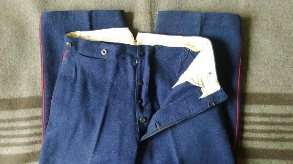 Pantalon de pompier.