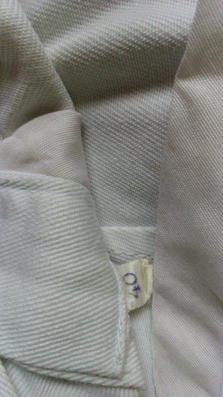 Pantalon blanc mle   .