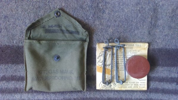 Kit, gas mask waterproofing, M1.