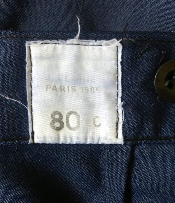 Pantalon d'intervention de la gendarmerie.