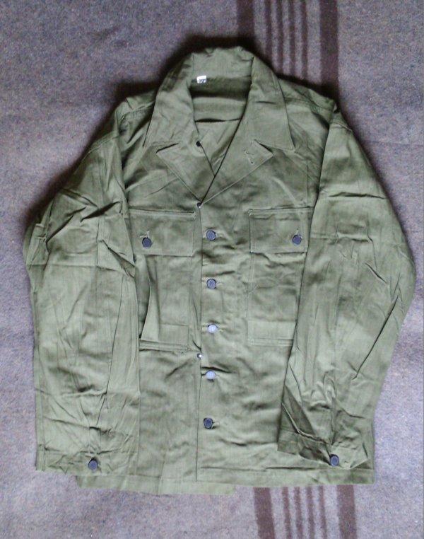 Jackets, herringbone twill, OD 7, special.