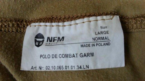 POLO DE COMBAT GARM.