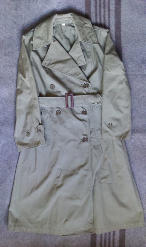 OVERCOATS, FIELD, WOMEN'S, OFFICERS.