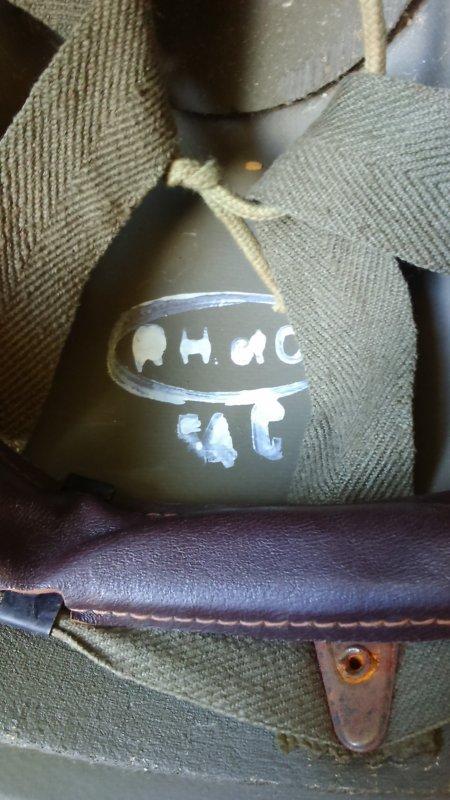 Sous-casque d'équipage de char mle 51, 2éme type.