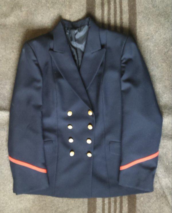 Veste personnel feminin, Marine Nationale.