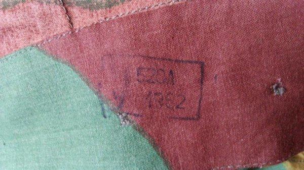 ITALIE : Sur-pantalon camouflé.
