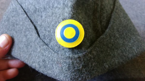 DANEMARK : Bonnet de police.