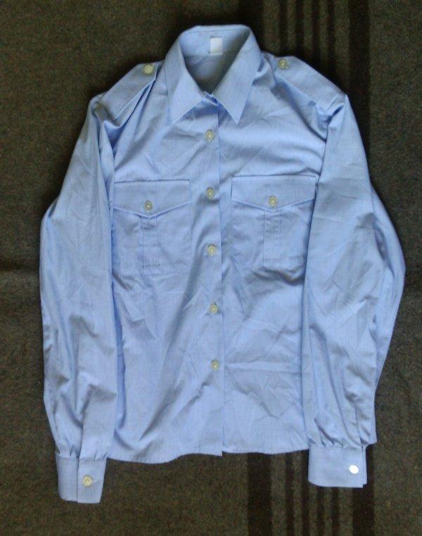 Chemise bleu, personnel feminin, armée de l'air.