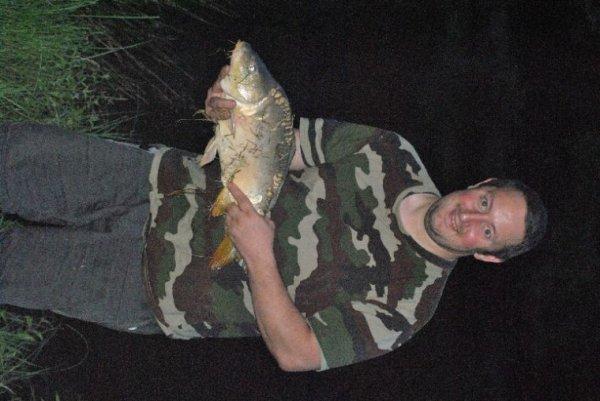 Moi a la pêche de nuit