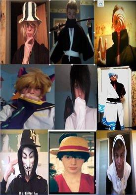 et mes cosplays :)