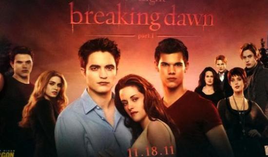Affiche Breaking Dawn