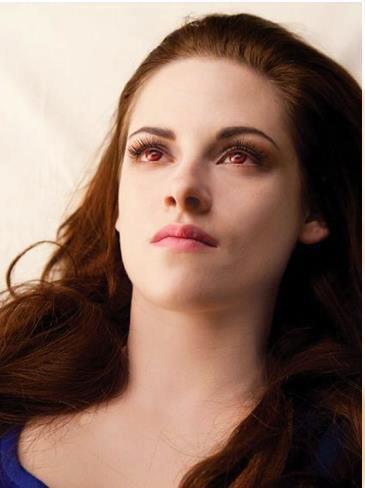 Bella se réveillant en Vampire