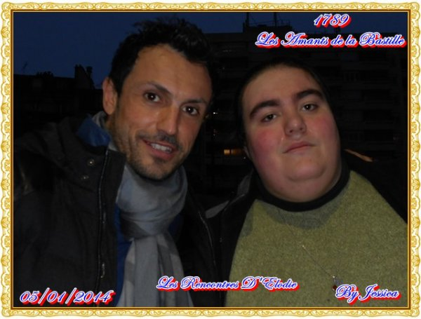 Willy Rovelli et Moi Elodie le 5/01/2014