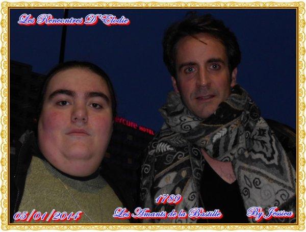 Rod janois et moi Elodie le 5/01/2014