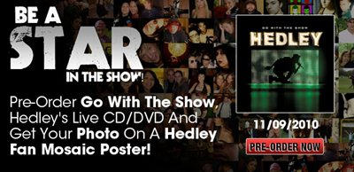 Pre-Order Go With The Show & Get Your Photo In A Fan Mosaic Poster!!