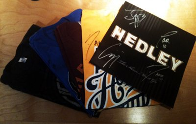 Something Extra With Your Hedley Merch Order...