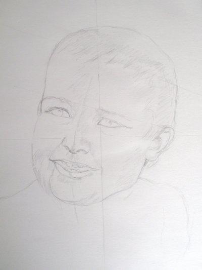 Portrait étape par étape