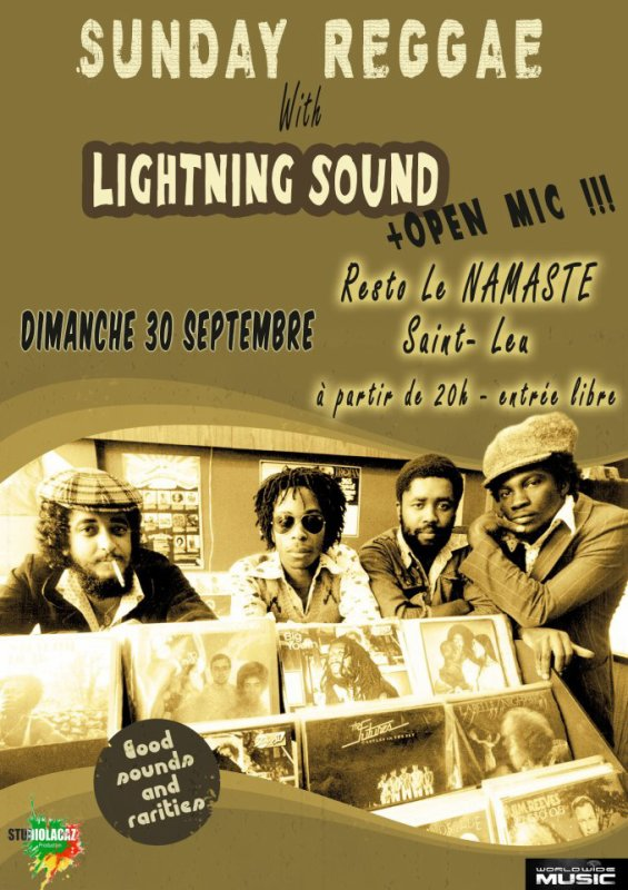 LIGHTNING SOUND SYSTEM AU NAMASTE st leu