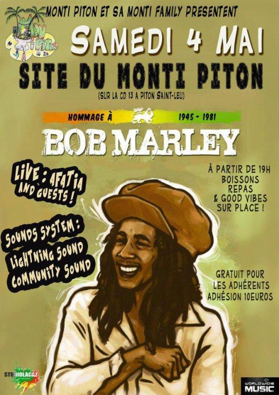 Hommage à Bob Marley 1945-1981