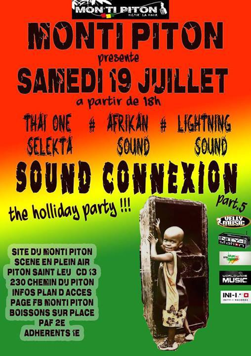 SOUND CONNEXION part5 Mon ti Piton session ...