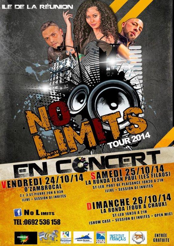 NO LIMITS tours2014