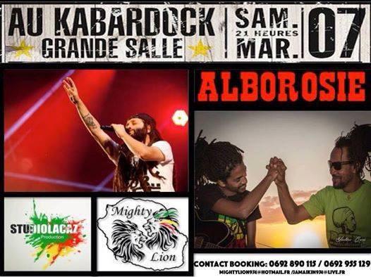 Alborosie & Studiolacaz SOund Au Kabardok