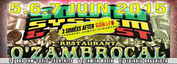 Before 'N After po le sakifo Au bar resto O'Zambrocal ... st pierre