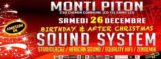 AFTER CHRISTMAS n BIRTHDAY SOUND SYSTEM