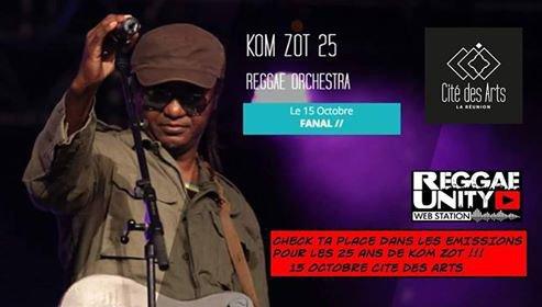 KOM ZOT en Concert le 15 octbre 2016