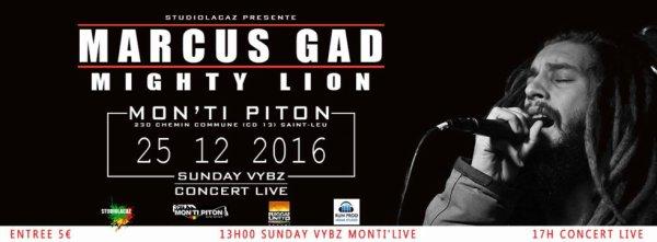 MARCUS GAD & MIGHTY LION AU MON TI PITON