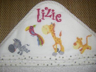 cape de bains pour ma petite cousine lizie