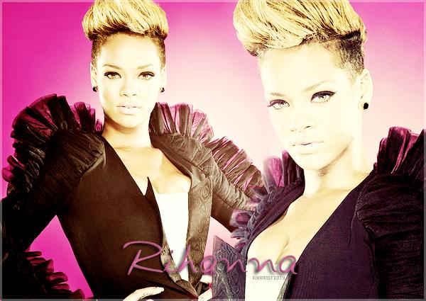 Suis pas à pas sur RihannsFenty l'actualité de la talentueuse Rihanna Fenty !