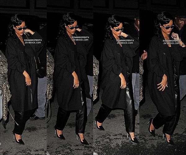.08.11.2012 : Notre belle Rihanna s'est rendue au restaurant 'Da Silvano' à New York.   .