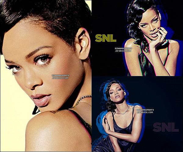 """Découvrez  un promoshoot de Rihanna pour l'émission """"Saturday Night Live"""" ."""