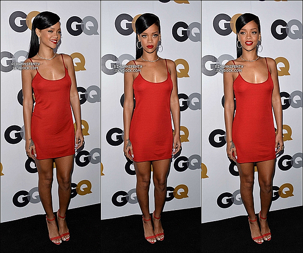 ".13.11.2012 : Rihanna était présente à la soirée ""GQ: Men Of The Year"" à Los Angeles.   ."