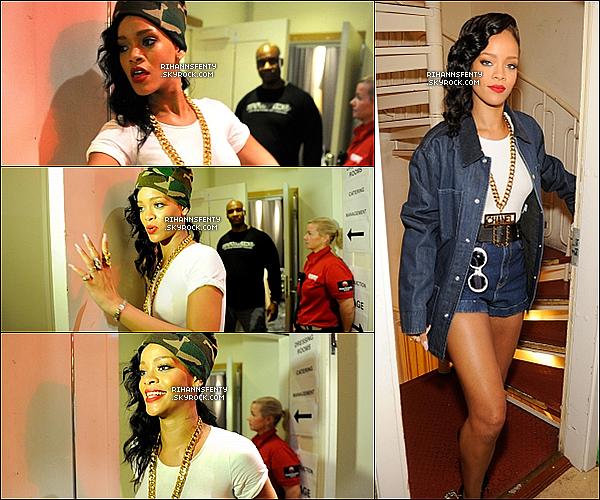 .16.11.2012 : Rihanna s'est rendue à sont 3éme showcase du 777 tours en Suéde.   .