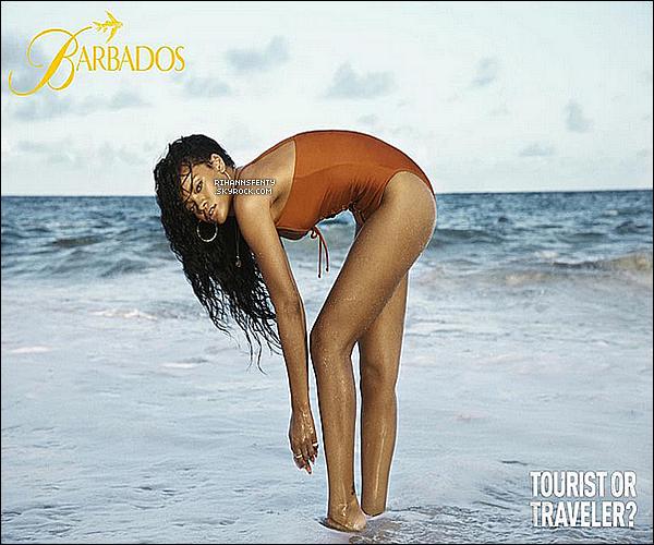 Voici une magnifique nouvelle photo de Rihanna de la campagne pour la Barbade.