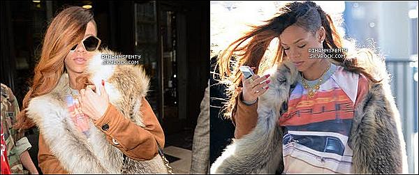 .31.01.2013 : Notre belle chanteuse a été aperçue se rendant à l'aéroport de New York.   .