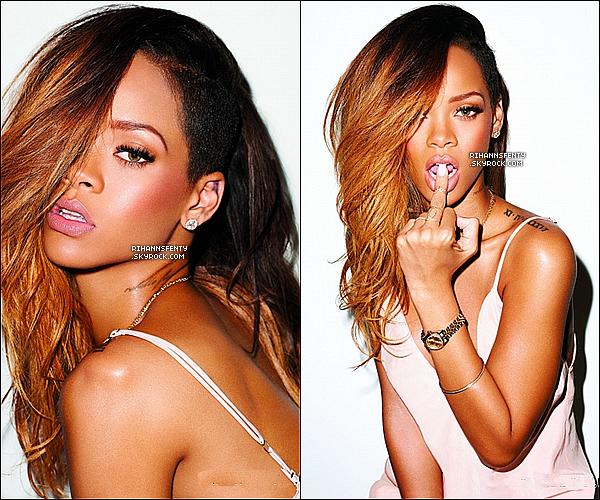 Voici un nouveau photoshoot de la belle Rihanna pour la magasine « Rolling Stone ».