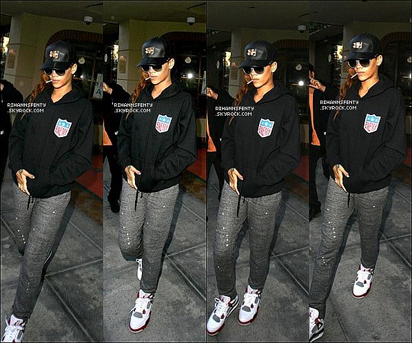 .16.04.2013 : Notre belle Rihanna a été aperçue quittant un cabinet médical à Los Angeles.   .