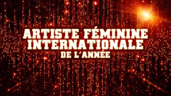 Chanteuse International de l'année